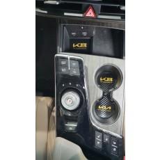 신형기아 K8GL3 카본컵홀더 도어캐치